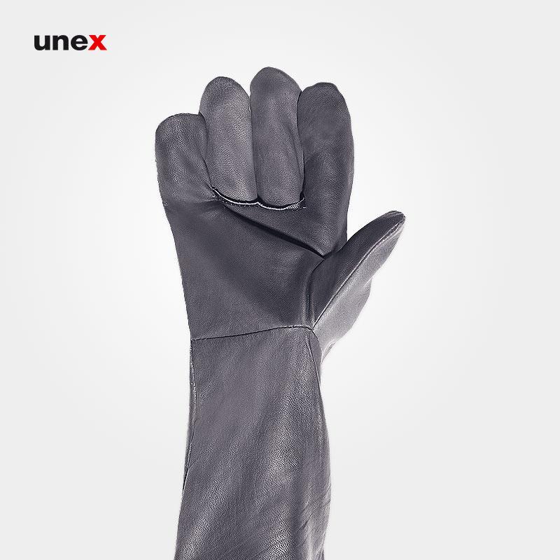 دستکش آرگون جوشکاری بلند, دستکش ایمنی مخصوص جوشکاری ابزار ایمنی شهپر