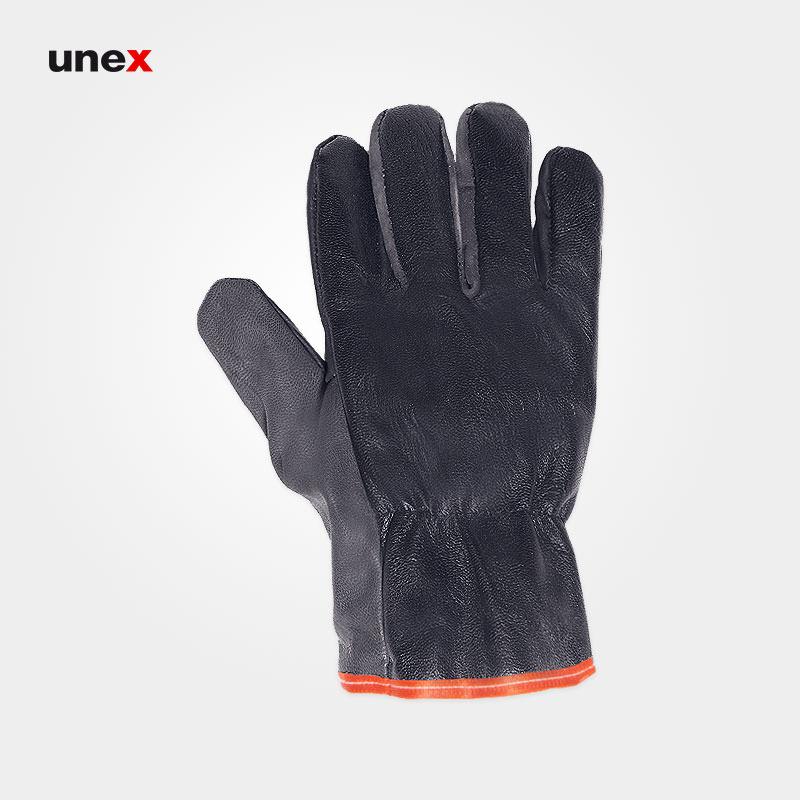 دستکش آرگون جوشکاری کوتاه, دستکش ایمنی جوشکاری چرم بزی مخصوص