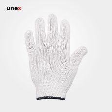 دستکش بافتنی یونکس سنگین گرماژ ۷۰ سفید