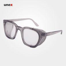 عینک ایمنی اپتیک بغل توری P05 سفید