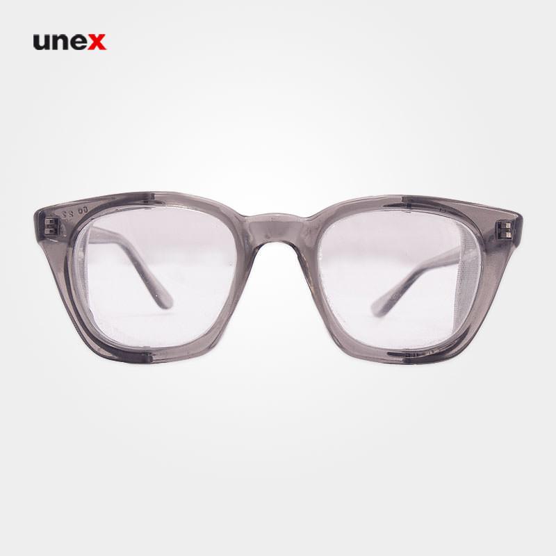 عینک بغل توری سفید P.05
