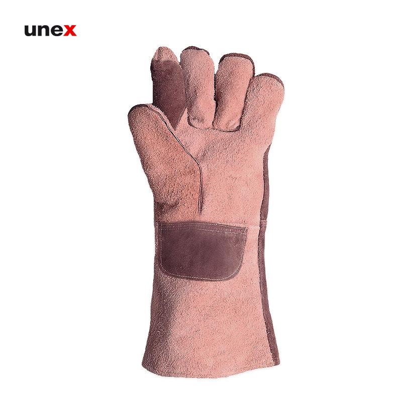 دستکش چرمی سیم دوز, دستکش ایمنی مناسب جوشکاری و کارهای سخت بلند