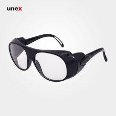 عینک اسپورت حفاظ دار سفید