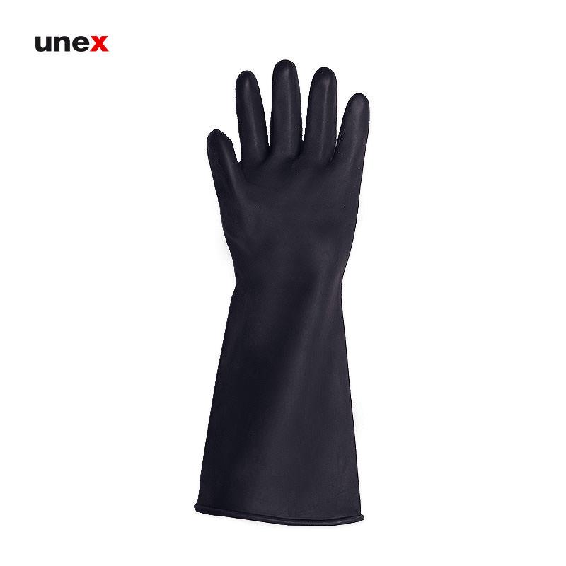 دستکش لاستیکی دو برابر ضخامت یاسا, دستکش ایمنی لاتکس مناسب کارهای عمومی خدمات