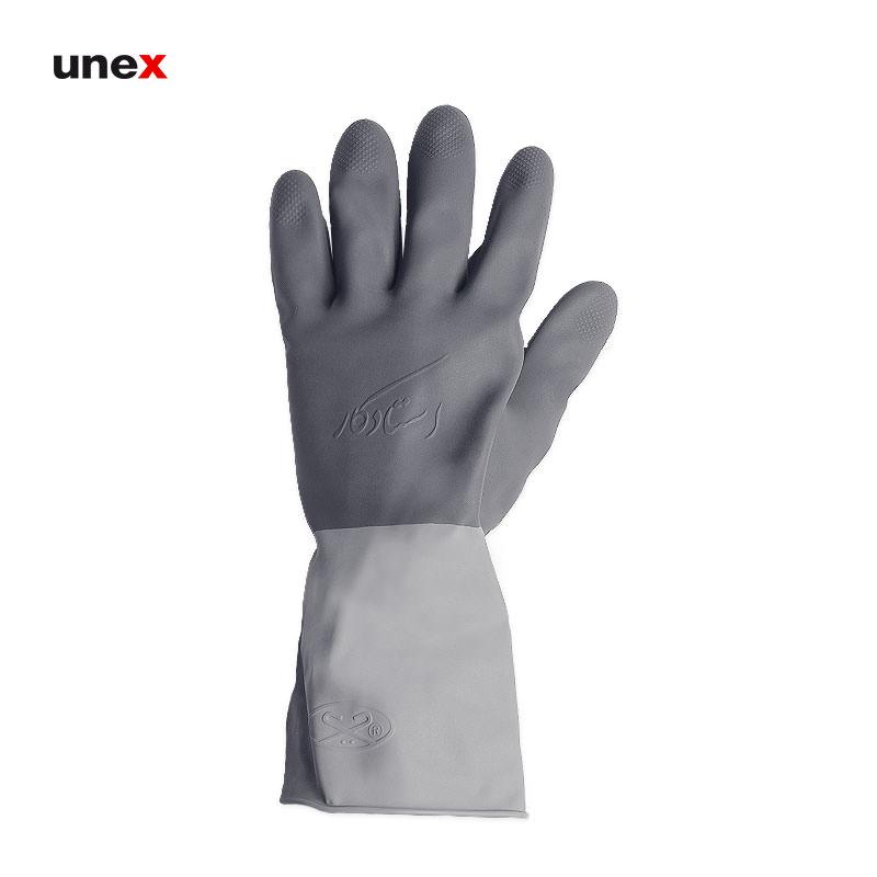 دستکش لاستیکی استاد کار, دستکش ایمنی ۳۰ سانتی, دستکش مناسب کارهای ساختمانی