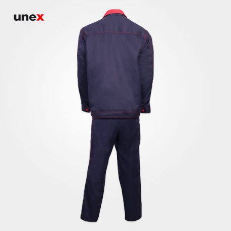 لباس کار کاپشن و شلوار یونکس - UNEX، لباس کار صنعتی، سرمه ای، ایرانی