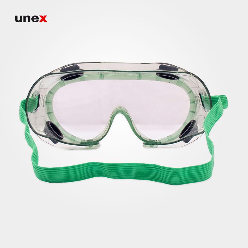 عینک طلقی ضد بخارات شیمیایی