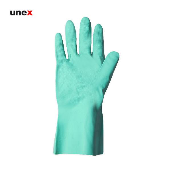 دستکش ضد حلال نیتریلی, دستکش ایمنی ضد اسید مناسب کار با مواد شیمیایی سبک