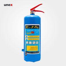 کپسول آتش نشانی آب و گاز روناک ۶ لیتری