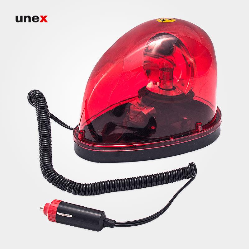 چراغ گردان فندکی بدون آژیر، قرمز، ابزار ایمنی شهپر