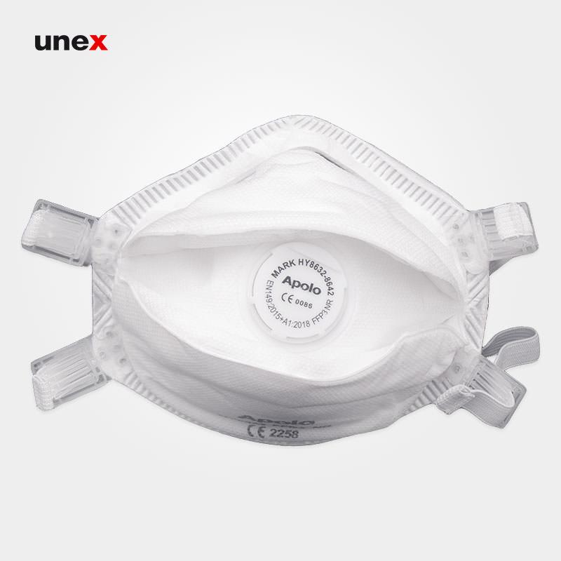 ماسک کاسه ای سوپاپ دار آپولو, ماسک ایمنی Apollo سفید