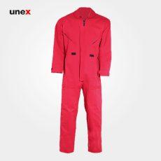 لباس کار یونکس یکسره آرگون قرمز