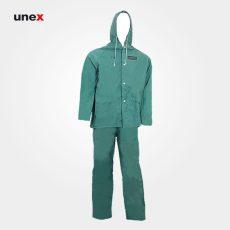لباس ضد اسید پرومکس دوتکه سبز