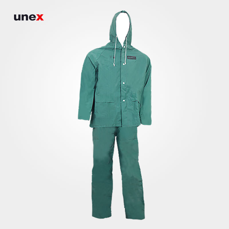 لباس کار ضد اسید پرومکس Promax , لباس کار شیمیایی، سبز، چینی
