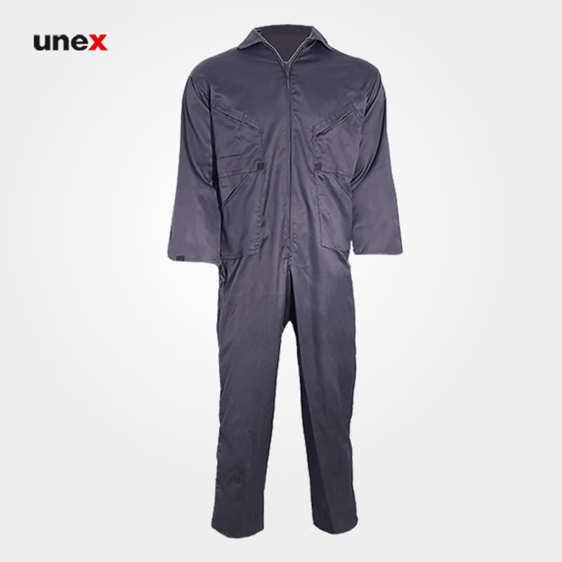 لباس کار یکسره خلبانی، ابزار ایمنی شهپر، لباس کار صنعتی، طوسی، ایرانی