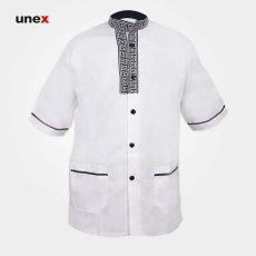لباس یونکس رستورانی ورساچی سفید