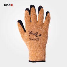 دستکش شیاری ضد برش ۱۲۲, دستکش ایمنی کف پلاستیک ضد برش