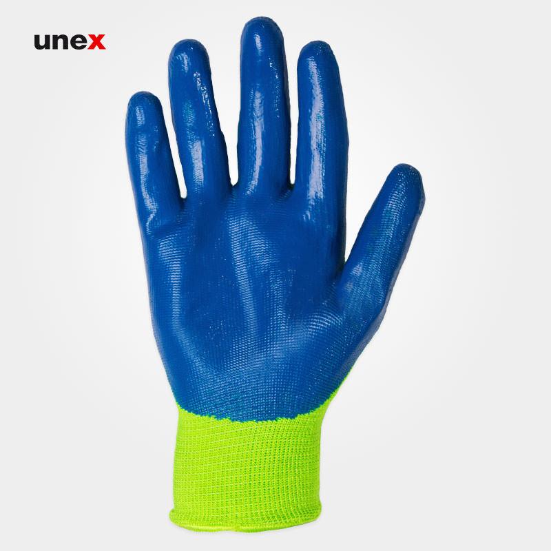 دستکش شیاری  ضد برش ۱۶۸, دستکش ایمنی کف پلاستیک مناسب کار