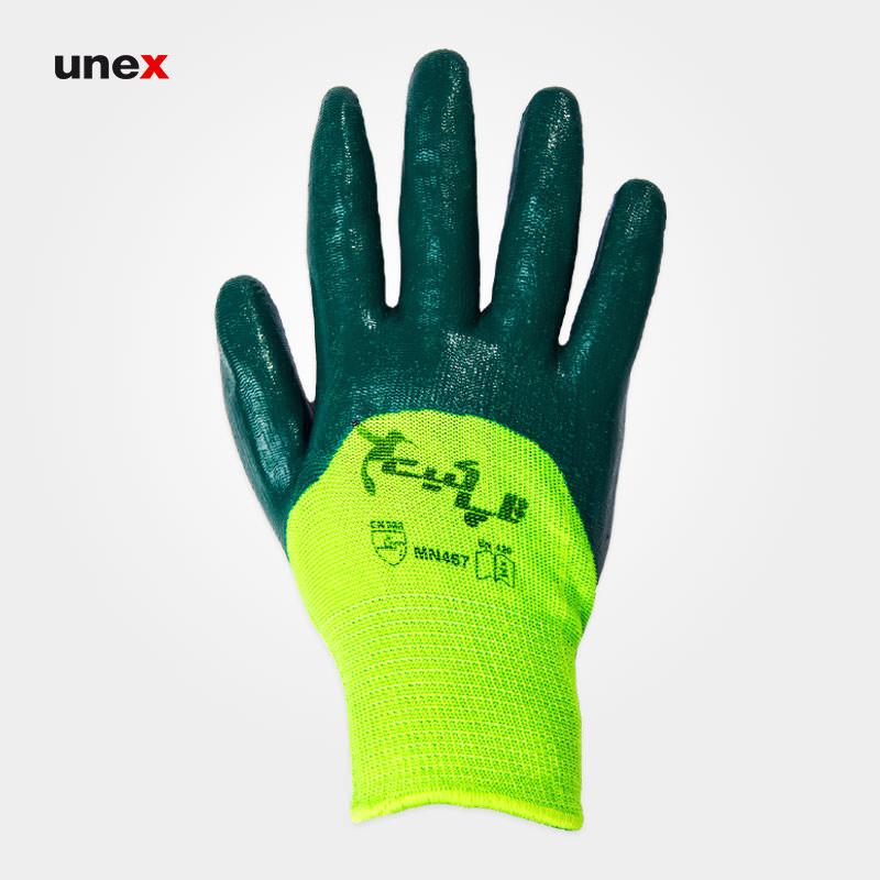 دستکش شیاری ضد برش ۴۶۷, دستکش ایمنی مناسب کار با لوازم تیز و برنده