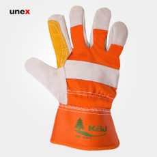 دستکش کف دوبل کاج, دستکش چرم, دستکش ایمنی مناسب مکانیکی