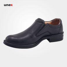 کفش پرسنلی فرزین فدرال بدون بند مشکی