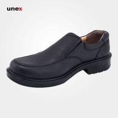 کفش پرسنلی فرزین لرد بدون بند مشکی