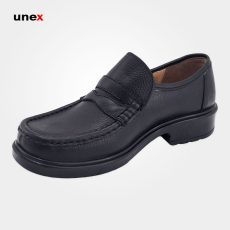 کفش پرسنلی فرزین سانترال بدون بند مشکی