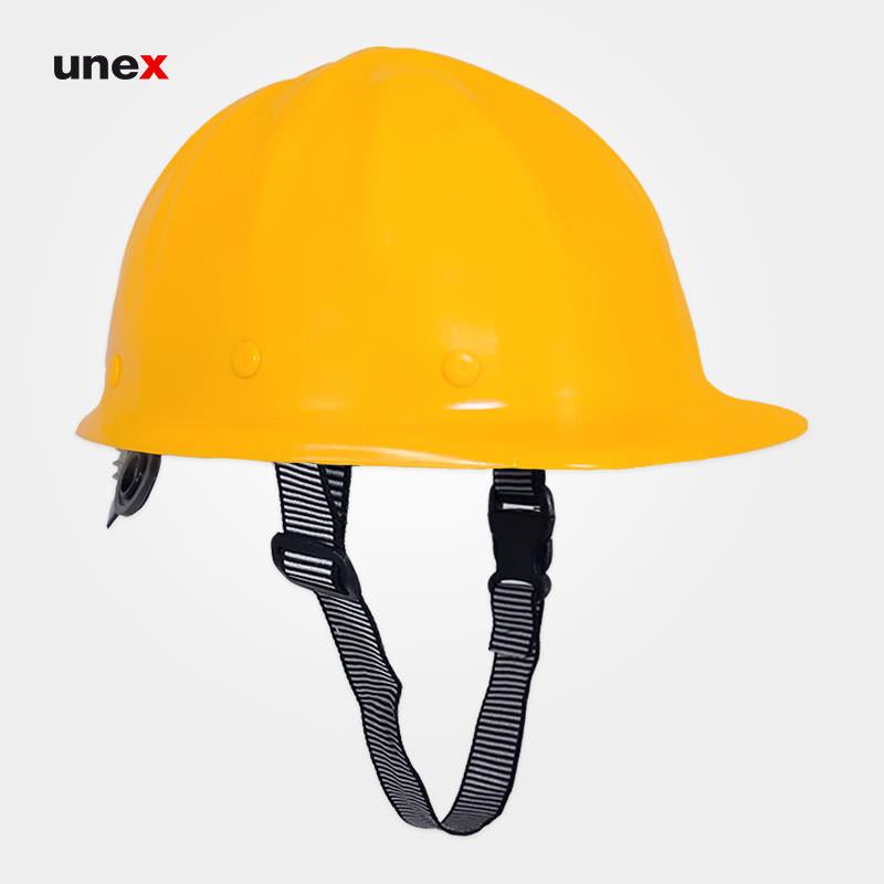 کلاه ایمنی ABS عایق برق زرد