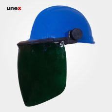 کلاه ایمنی با شیلد رنگی طرح jsp