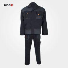 لباس کار یونکس مهندسی پاور زیتونی طوسی