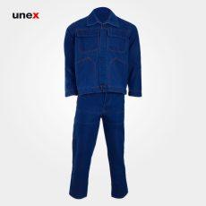 لباس کار یونکس مهندسی جین آبی