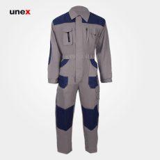 لباس کار یونکس پاور یکسره طوسی سرمه ای