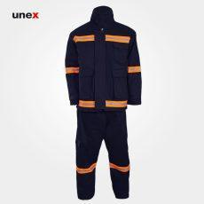 لباس عملیاتی آتش نشانی مشکی