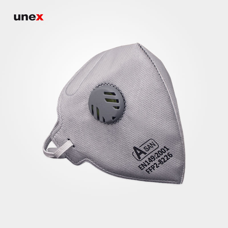 ماسک سوپاپ دار آسان FFP2-8226, ماسک ایمنی تنفسی