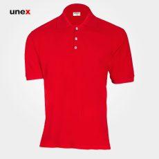 تی شرت یونکس دکمه دار رنگ بندی