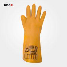 دستکش عایق برق کلاس صفر صفر – ۰۰، ۲۵۰۰ ولت ، السک – ELSEC ، دستکش عایق برق ، رنگ کرم