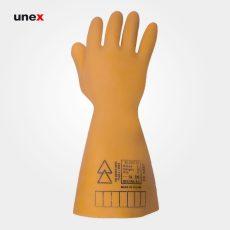 دستکش عایق برق کلاس یک ۱۰۰۰۰ ولت – ۱، السک – ELSEC ، دستکش عایق برق ، رنگ کرم