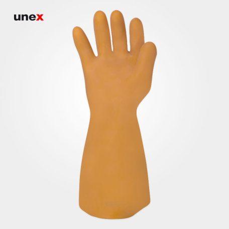 دستکش عایق برق کلاس یک ۱۰۰۰۰ ولت - ۱، السک - ELSEC ، دستکش عایق برق ، رنگ کرم