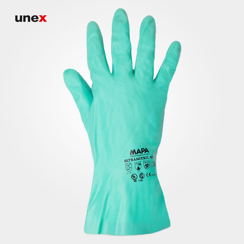 دستکش ضد حلال ماپا, دستکش Mapa مناسب کار با مواد نفتی