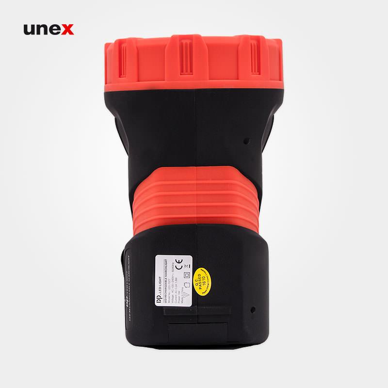 چراغ قوه دی پی هفت هزار و هفتاد و هفت - DP 7077 ، ابزار ایمنی شهپر ، چراغ قوه ،رنگ مشکی - قرمز ،ساخت چین
