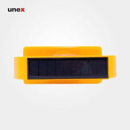 چراغ آذرخش ، پی وی سی - PVC ، چراغ آذرخش ، سولار ، رنگ زرد