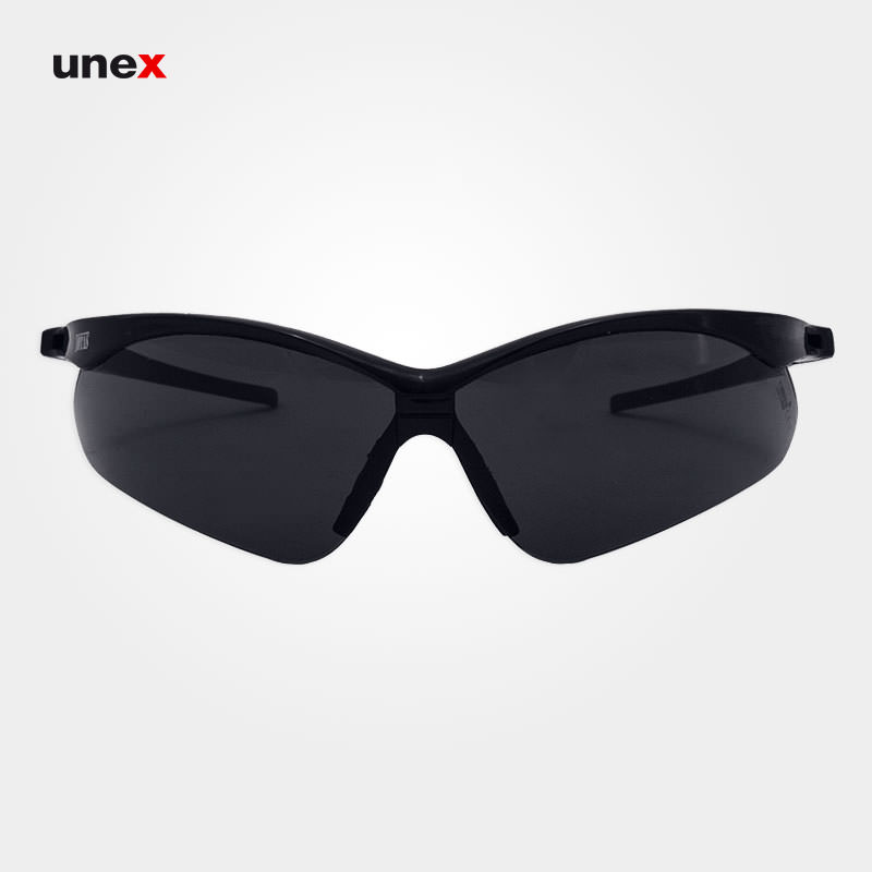 عینک ایمنی ای تی صد  – AT 100 ، توتاص – TOTAS ، عینک فریم دار ، رنگ فریم مشکی