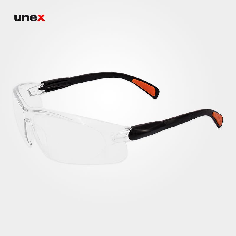 عینک ایمنی ای تی صد و سیزده – AT 113 ، توتاص – TOTAS ، عینک فریم دار ، در رنگ های متنوع