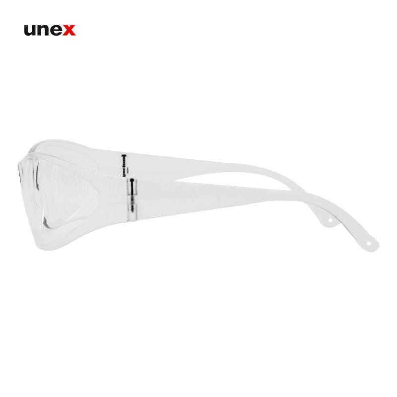عینک ایمنی ضد بخار ای تی صد و پانزده – AT 115 ، توتاص – TOTAS ، عینک فریم دار ، رنگ سفید
