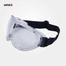 عینک ایمنی گاگل – GOGGLE  ، آلبا سیفتی – ALBA SAFETY – عینک طلقی کشدار ، رنگ سفید
