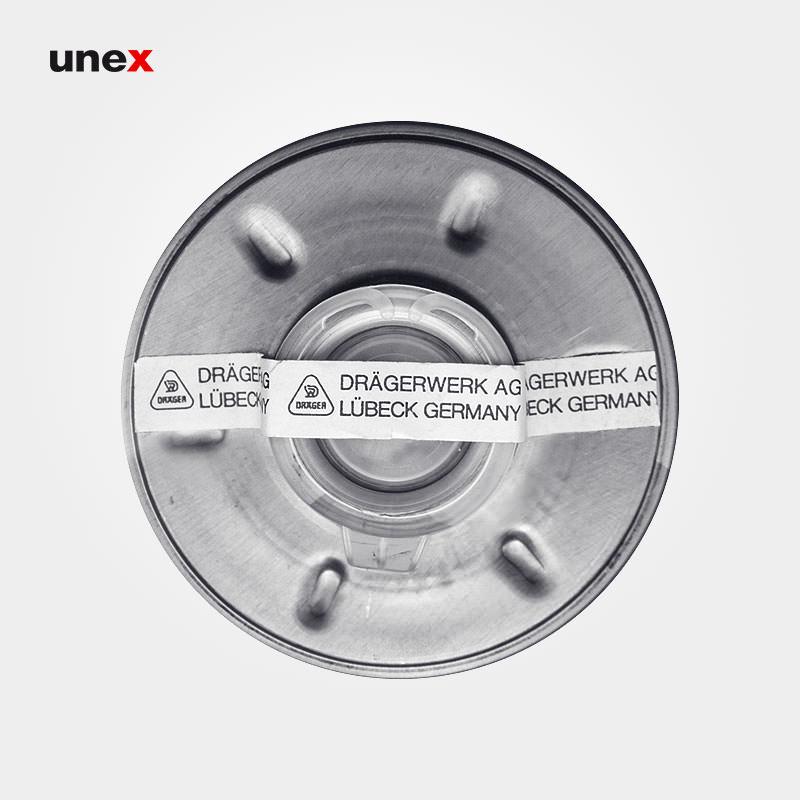 فیلتر شیمیایی دراگر – DRAGER ، فیلتر ها ، رنگ نقره ای ، ساخت آلمان