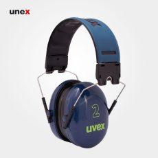 گوشی ایمنی  ۲ UVEX رنگ آبی