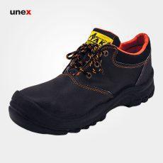 کفش ایمنی چرم اشبالت، آیاک – AYAK، کفش ایمنی، رنگ مشکی، در سایزهای مختلف، ساخت ایران