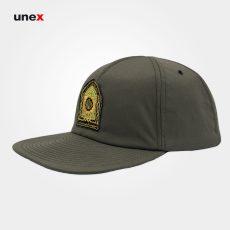 کلاه لبه دار کتان ، سربازی ناجا ، ابزار ایمنی شهپر ، رنگ سبز – زیتونی سیر ، ساخت ایران