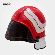 کلاه ایمنی آتش نشانی، پاپ فایر – POP FIRE ،قرمز ، ساخت اسلوونی